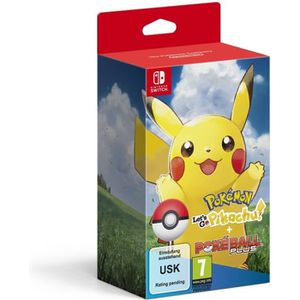 JEU NINTENDO SWITCH Pokémon : Let's Go, Pikachu ! + Pokéball Plus sur
