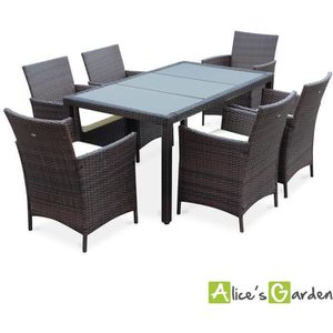 Table tressee Table Table 6 personnes tressee resine 6 personnes resine W2HDE9I