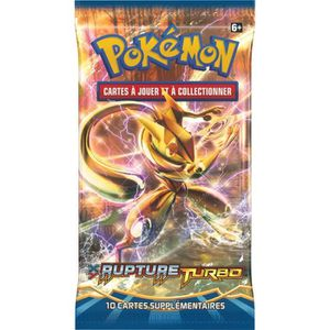 CARTE A COLLECTIONNER POKEMON Booster XY Rupture Turbo