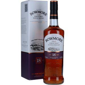 WHISKY BOURBON SCOTCH Spiritueux - Bowmore 18 Ans Scotch Whisky
