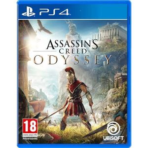 JEU PS4 Assassin's Creed Odyssey PS4 (IMPORT - 100% jouabl