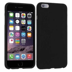 coque iphone 6 silicone noire