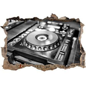 STICKERS Monocrome, Illuminated vert console DJ - ouverture