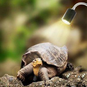 KIT AMÉNAGEMENT TECHNIQ Lampe Tortue Terrestre Chauffante Reptiles pour Aq