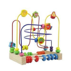 BOULIER Circuit de Motricite Enfant Boulier Montessori Boi