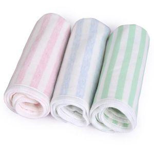 Id/ée cadeau pour une Ba Langes en mousseline pour b/éb/é Mulinn Lingettes en mousseline de coton naturelle pour b/éb/é Serviette et gant de toilette doux pour le visage pour la peau sensible de votre nouveau-n/é