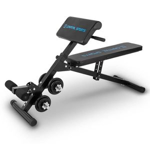 BANC DE MUSCULATION Capital Sports Sit'n Curl - Banc de musculation mu