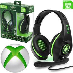 JEU XBOX ONE Casque Gamer Pro-XH5 pour Xbox One