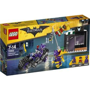 ASSEMBLAGE CONSTRUCTION LEGO® 70902 Batman Movie - La Poursuite en Catmoto