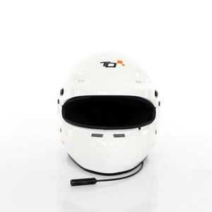CASQUE MOTO SCOOTER Casque FIA intégral TURN ONE Full-RS blanc Interco