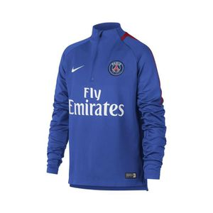 TENUE DE FOOTBALL Training Top PSG Squad Bleu Junior