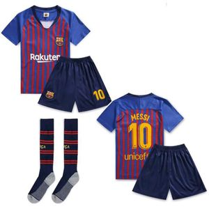 MAILLOT DE FOOTBALL Jersey Soccer Maillot Barcelona Maillot messi 10#