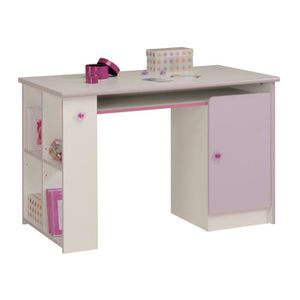 bureau enfant fille rose achat vente bureau enfant fille rose pas cher cdiscount. Black Bedroom Furniture Sets. Home Design Ideas