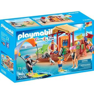 UNIVERS MINIATURE PLAYMOBIL 70090 - Family Fun Le Camping - Espace d