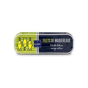 PRODUIT DE SARDINE Filets de maquereaux à l'huile d'olive vierge extr