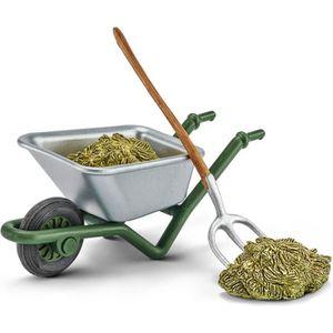 FIGURINE - PERSONNAGE Kit de nettoyage de l'étable à la ferme - Accessoi