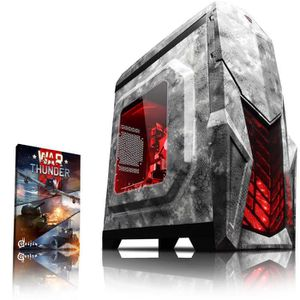 UNITÉ CENTRALE  VIBOX Pyro GS850-8 PC Gamer Ordinateur avec War Th