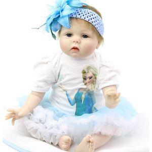POUPÉE 22 pouces Silicone bébé Reborn poupées fait main v