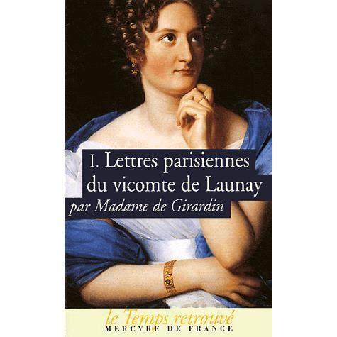 LIVRE HISTOIRE FRANCE Lettres parisiennes du vicomte de Launay