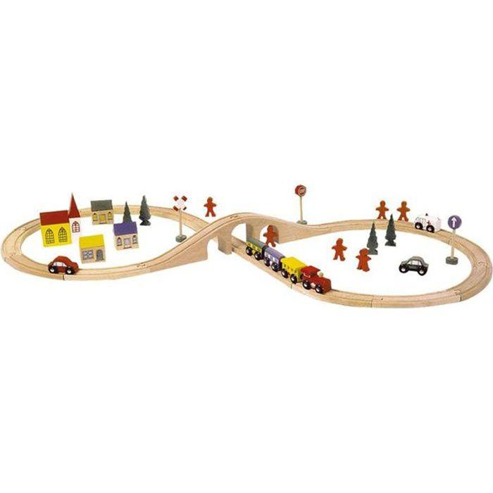 Circuit chemin de fer «En huit»