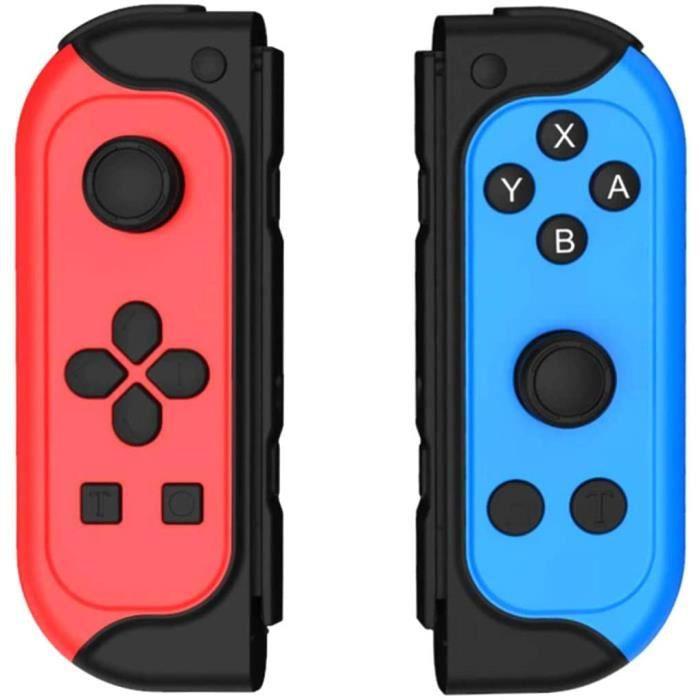 Elyco Manette pour Nintendo Switch, Wireless Controller Pro sans Fil Joycon Switch Contrôleur, Bluetooth Fonction Support Turbo / 6-