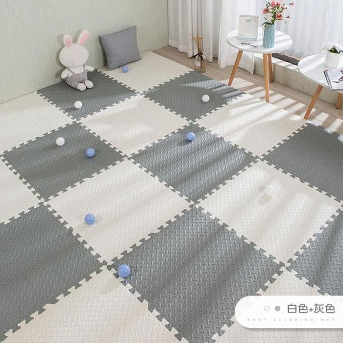 Tapis d'éveil,Tapis de Puzzle De bébé Tapis De Jeu Enfants Imbriqués L'exercice Carreaux Tapis Carrelage Jouets - Type M-9 pieces