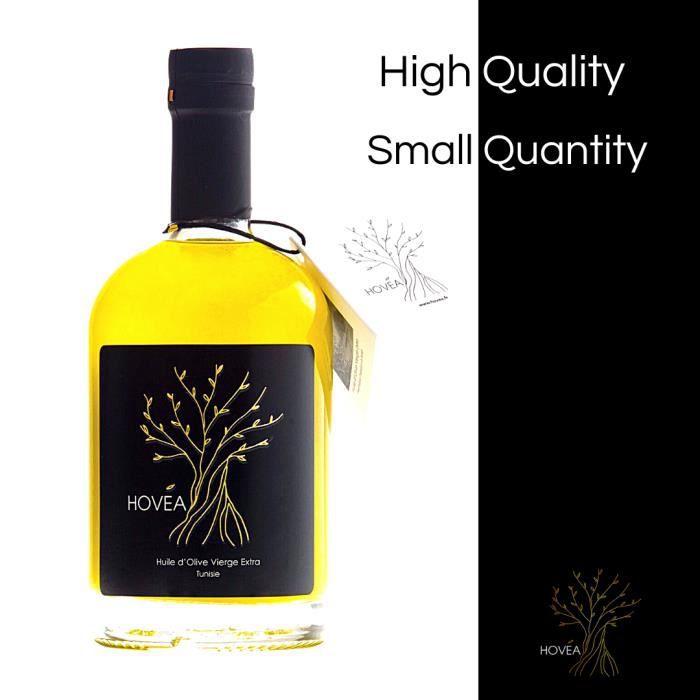 Huile d'Olive Vierge Extra variété Chemlali 6 x 500 ml Hergla Tunisie