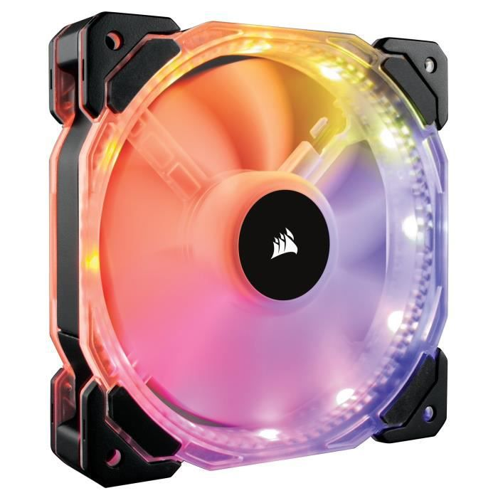 CORSAIR Ventilateur HD140 RGB LED - Single Fan - No controller