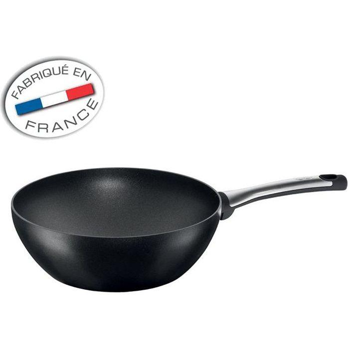 TEFAL TALENT Poêle wok 28cm tous feux dont induction