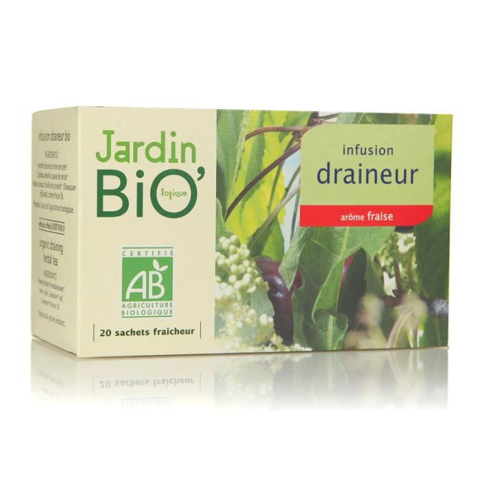 JARDIN BIO Infusion Draineur - 30g
