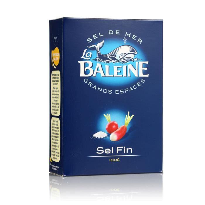 CASINO Véritable sel fin de mer - 1 Kg