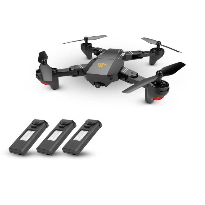 VISUO XS809HW Wifi FPV RC Drone 2.0MP 120° FOV Grand angle pliable Selfie Hauteur maintien Quadcopter G-Capteur RTF
