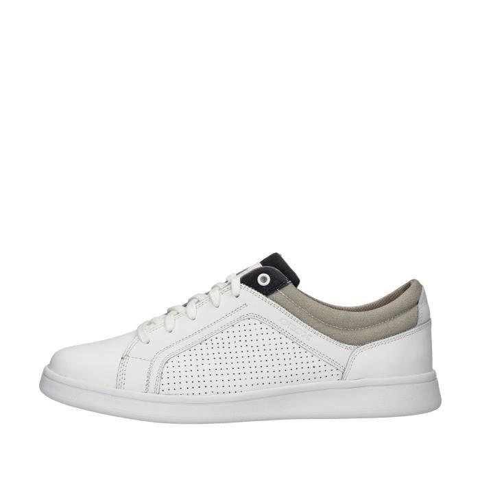 Geox U020LC00043 chaussures de tennis Homme BLANC