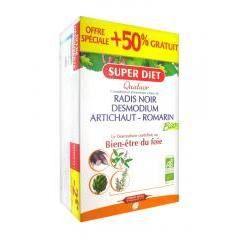 Super Diet Quatuor Bio Bien-Être du Foie 20 Amp...