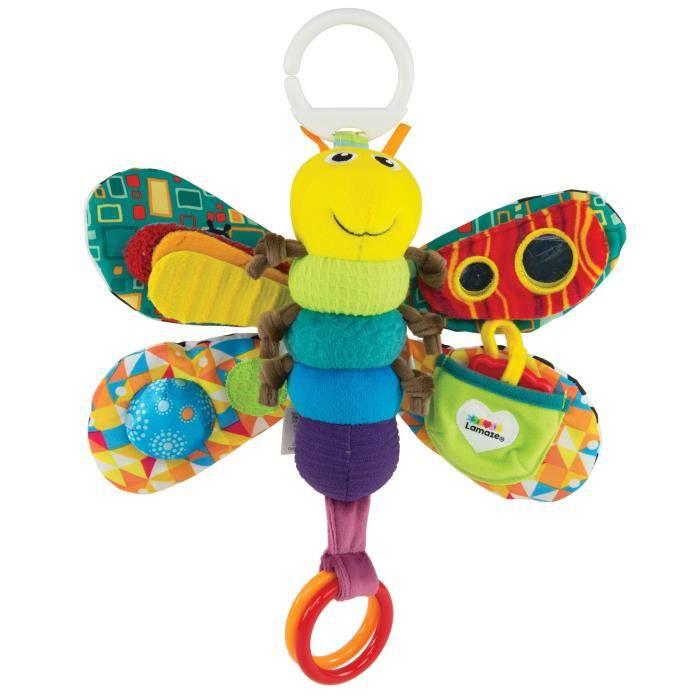 TOMY Lamaze Play & Cultivez Take Along Toy, Firefly H0DVR