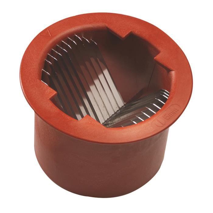 Coupe demi-rondelles pour multi-coupe 5 mm