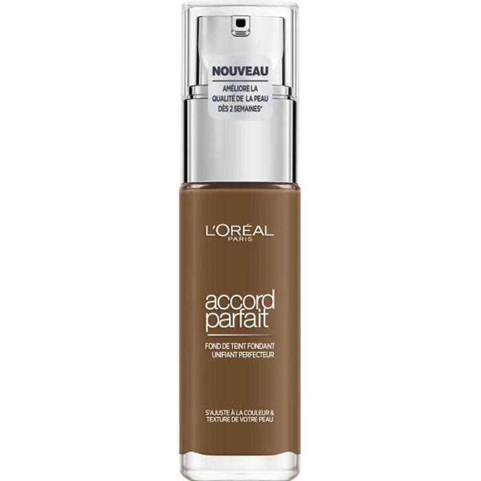 L'Oréal Paris - Fond de Teint Fluide Accord Parfait - Teinte : Foncé Froid (9.R)