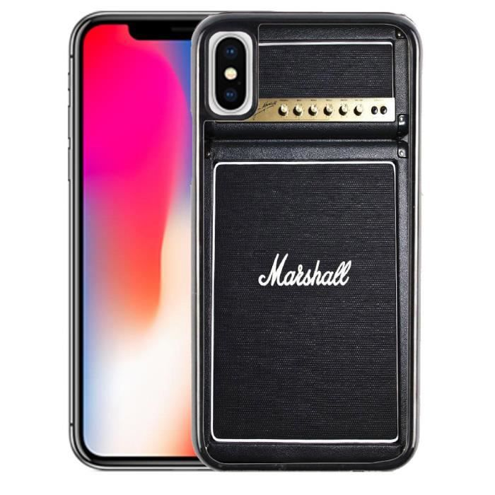 coque iphone x marshall