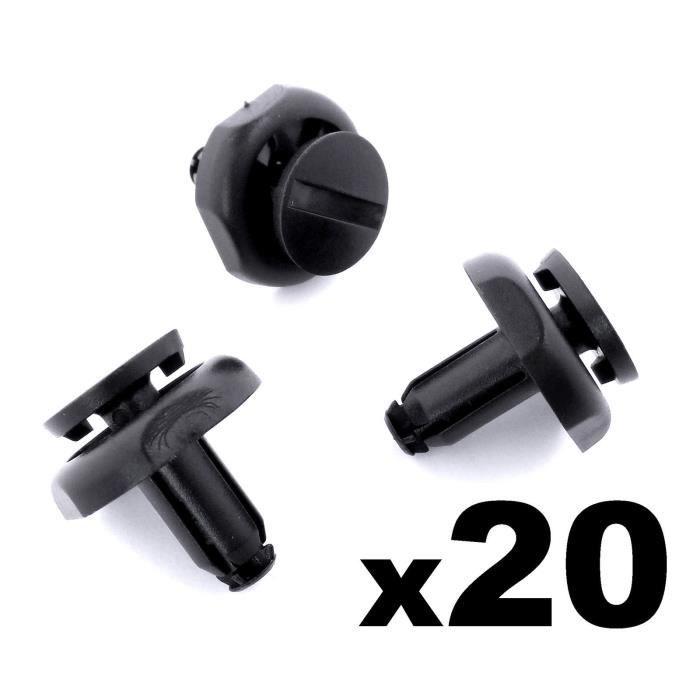 20x TOYOTA capot moteur clips-garniture en plastique de fixation pour moteur boucliers /& panneaux