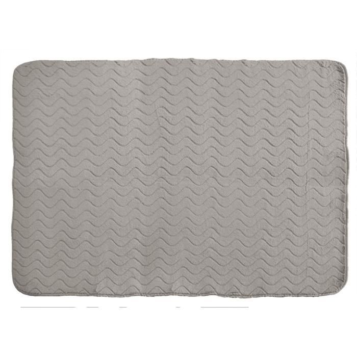 tapis imitation fourrure 120x170 zibeline gris achat. Black Bedroom Furniture Sets. Home Design Ideas