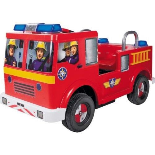Fireman sam 12v battery operated jupiter ride on achat vente voiture enfant cdiscount - Camion de pompier sam le pompier ...