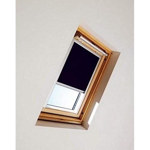 Store Occultant Dkl Pour Fenetre De Toit Velux H 98 X L 78 Cm Couleur Gris Obscurite Chambre