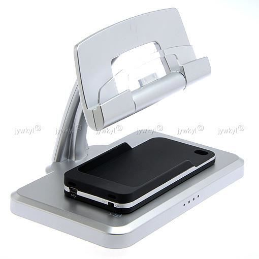 ipad 2 3 dock chargeur support iphone 4 4s co achat vente chargeur adaptateur ipad 2 3. Black Bedroom Furniture Sets. Home Design Ideas