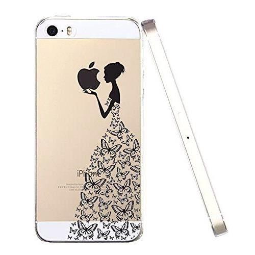transparente housse iphone 5 coque iphone 5s coq