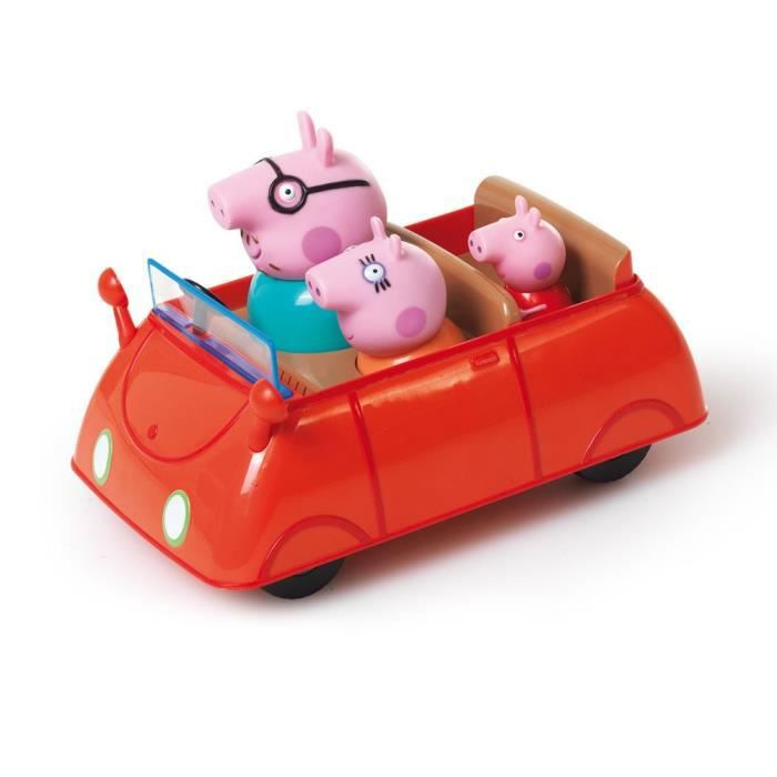 peppa voiture push go avec 3 personnages achat vente figurine personnage cdiscount. Black Bedroom Furniture Sets. Home Design Ideas