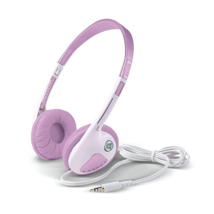 CASQUE AUDIO ENFANT LEAPFROG Casque audio rose LeapPad Explorer
