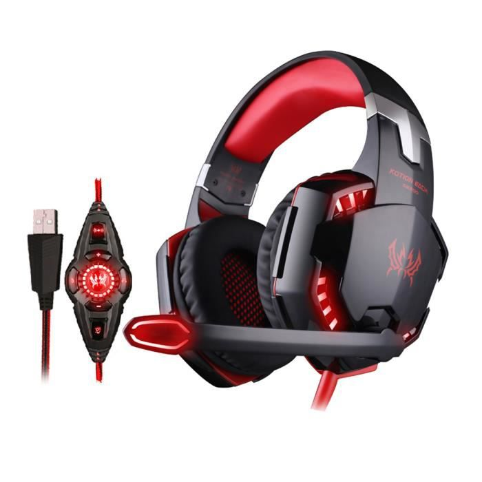 earto g2200 casque gaming casque gamer headset gaming headphone gamer micro casque casque. Black Bedroom Furniture Sets. Home Design Ideas
