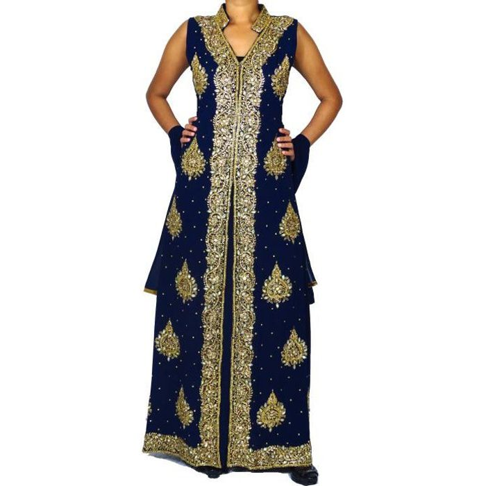 Robe de soiree indienne occasion