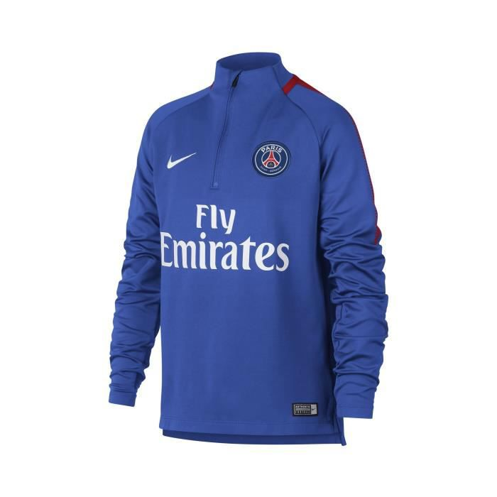 premium selection 750f4 49eee Training Top PSG Squad Bleu Junior