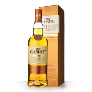 WHISKY BOURBON SCOTCH The Glenlivet 12 ans First Fill 70cl - Etui - Whis